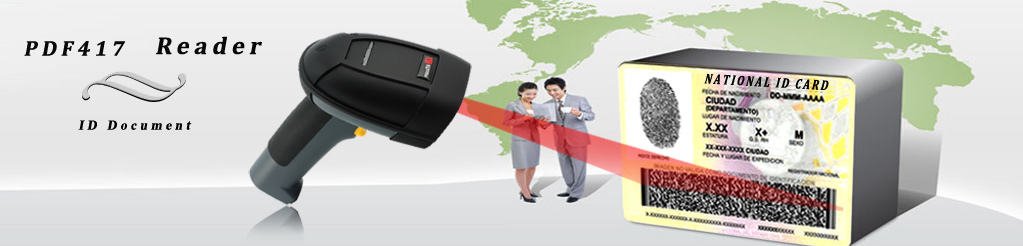 2D Barcode Scanner PDF417 Scanner for ID card or passport
