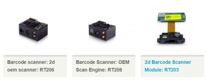 Raspberry Pi Barcode Scanner - RTscan